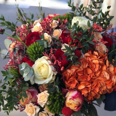 votre artisan fleuriste vous propose le bouquet : Bouquet Vitamine