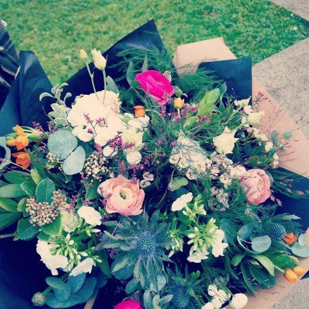 votre artisan fleuriste vous propose le bouquet : Bouquet Atelier Du Chardon