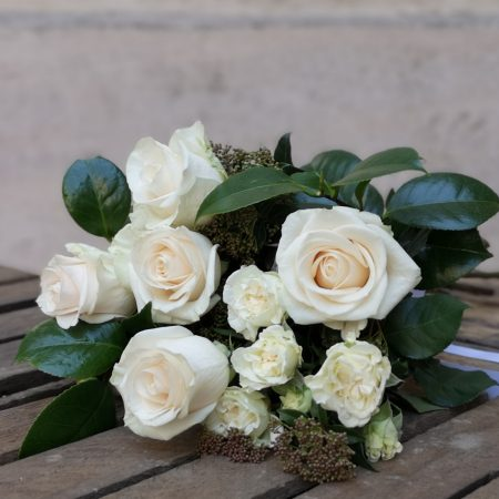votre artisan fleuriste vous propose le bouquet : La Douce Intention