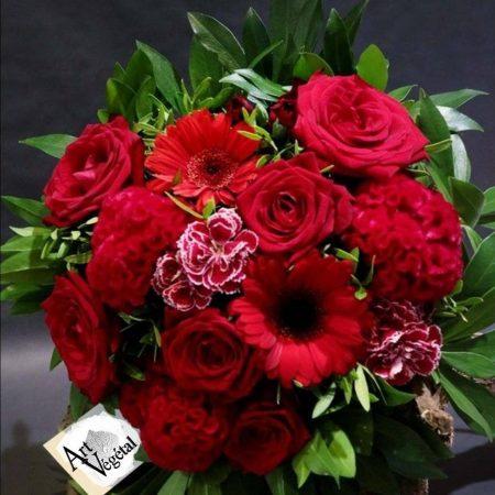 votre artisan fleuriste vous propose le bouquet : Simplicité