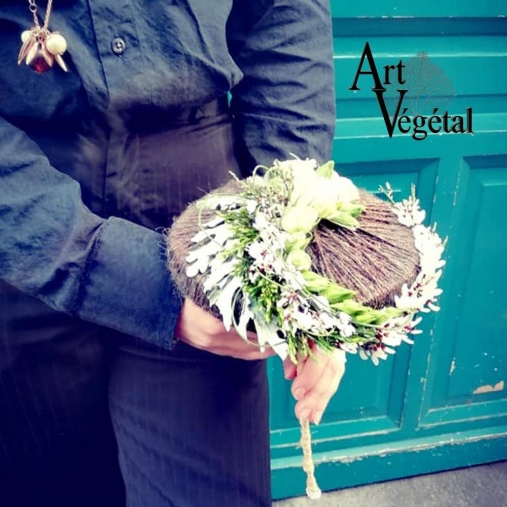 Bouquet De Mariée Lainée