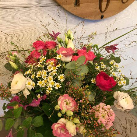 votre artisan fleuriste vous propose le bouquet : Bouquet Elodie