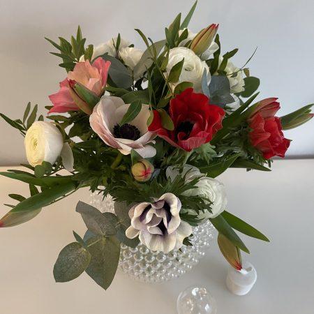 votre artisan fleuriste vous propose le bouquet : Bouquet Valentine