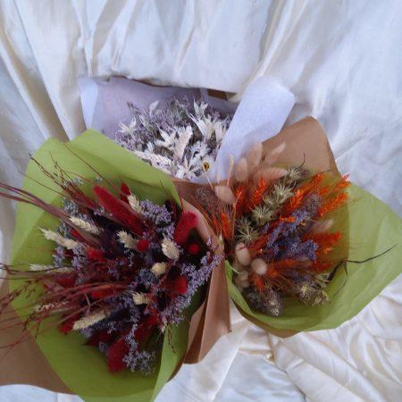 votre artisan fleuriste vous propose le bouquet : Fleurs Sechees