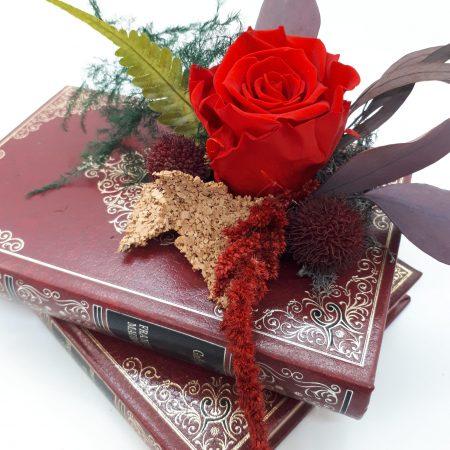 votre artisan fleuriste vous propose le bouquet : Lecture Florale