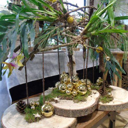 votre artisan fleuriste vous propose le bouquet : Centre De Table Végétal