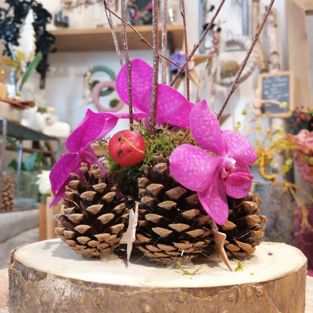 Décor De Table Orchidée