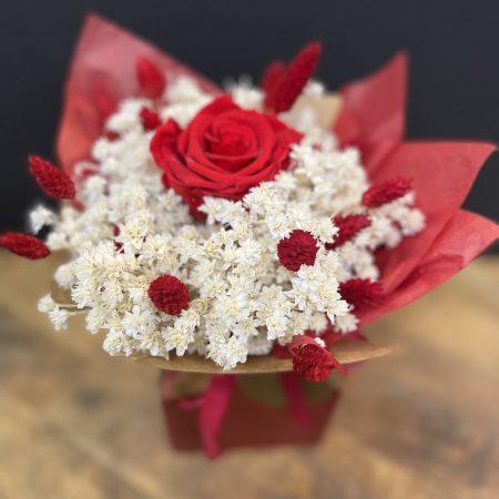 votre artisan fleuriste vous propose le bouquet : Séchées D Amour