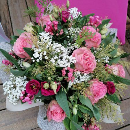 votre artisan fleuriste vous propose le bouquet : Bouquet Bulle