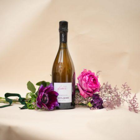 votre artisan fleuriste vous propose le bouquet : Coffret Bulles D'Amour