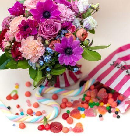 votre artisan fleuriste vous propose le bouquet : Candy Crush