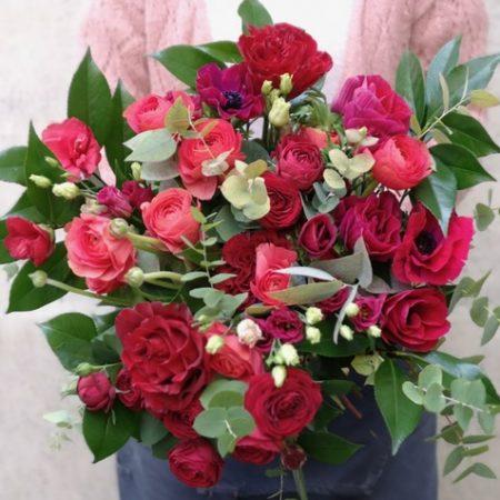votre artisan fleuriste vous propose le bouquet : La Tendresse