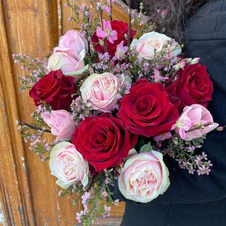 votre artisan fleuriste vous propose le bouquet : Bouquet Mon Amour