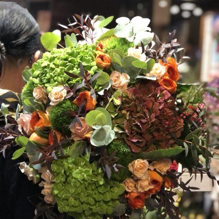votre artisan fleuriste vous propose le bouquet : Bouquet Voluptueux