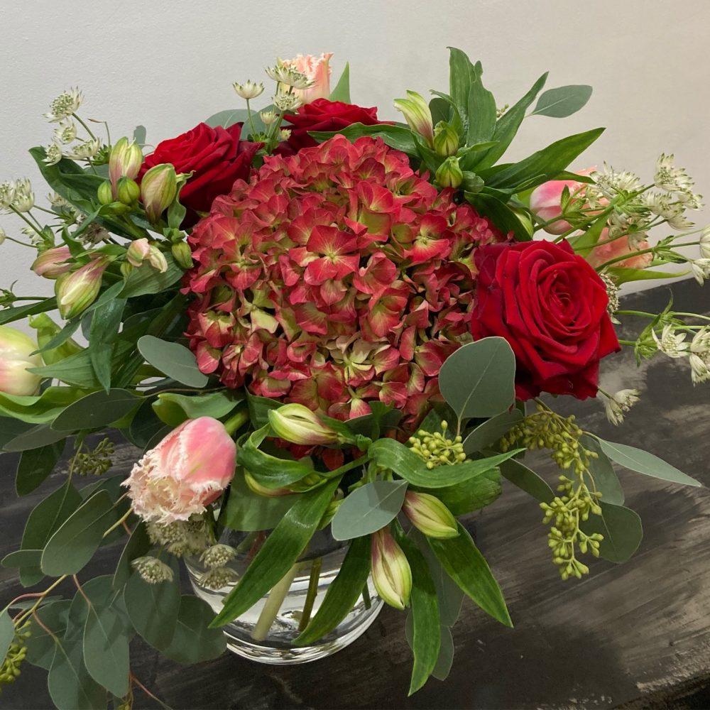 Bouquet Place Rouge