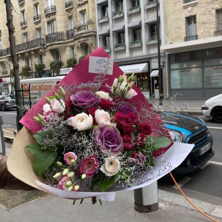 votre artisan fleuriste vous propose le bouquet : Bouquet Oural