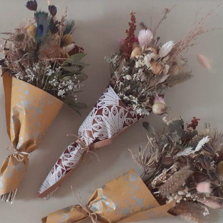 """votre artisan fleuriste vous propose le bouquet : Bouquet Sec """" Dry & Poetic"""""""