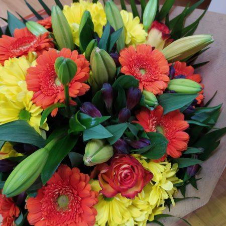 votre artisan fleuriste vous propose le bouquet : Bouquet Longues Tiges
