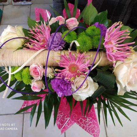 votre artisan fleuriste vous propose le bouquet : Bouquet Structure