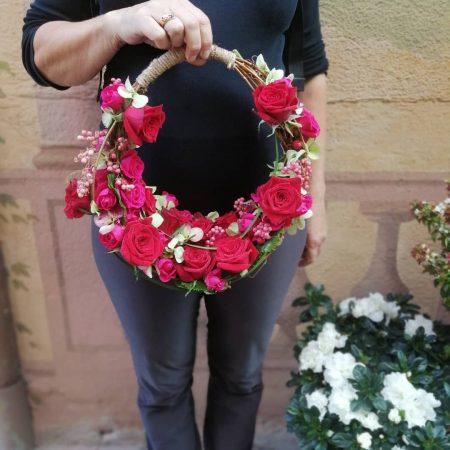 votre artisan fleuriste vous propose le bouquet : Élément Porté Pour Mariée