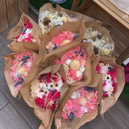 votre artisan fleuriste vous propose le bouquet : Bouquet De Fleurs Sèchées