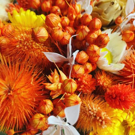 votre artisan fleuriste vous propose le bouquet : Box De Fleurs Séchées