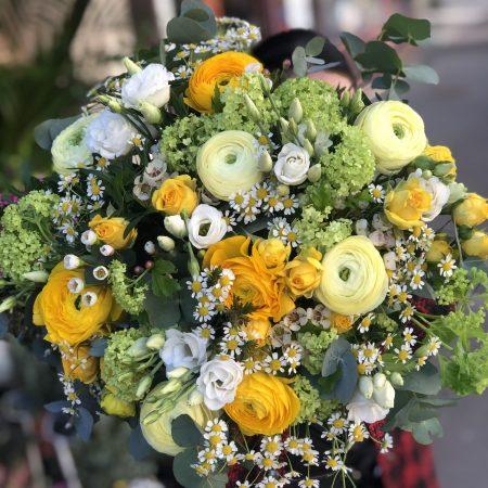 votre artisan fleuriste vous propose le bouquet : Bouquet Printemps