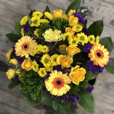 votre artisan fleuriste vous propose le bouquet : Bouquet Solaire