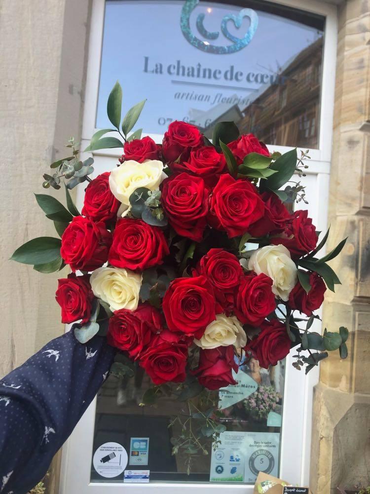 Bouquet De Roses Couleurs Multiples