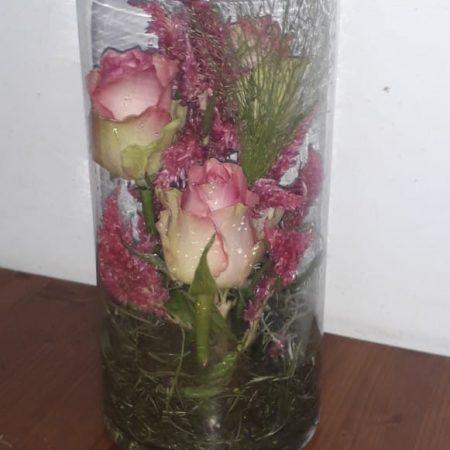 votre artisan fleuriste vous propose le bouquet : Vase Fleuri