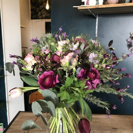 votre artisan fleuriste vous propose le bouquet : Abonnement bouquet de saison