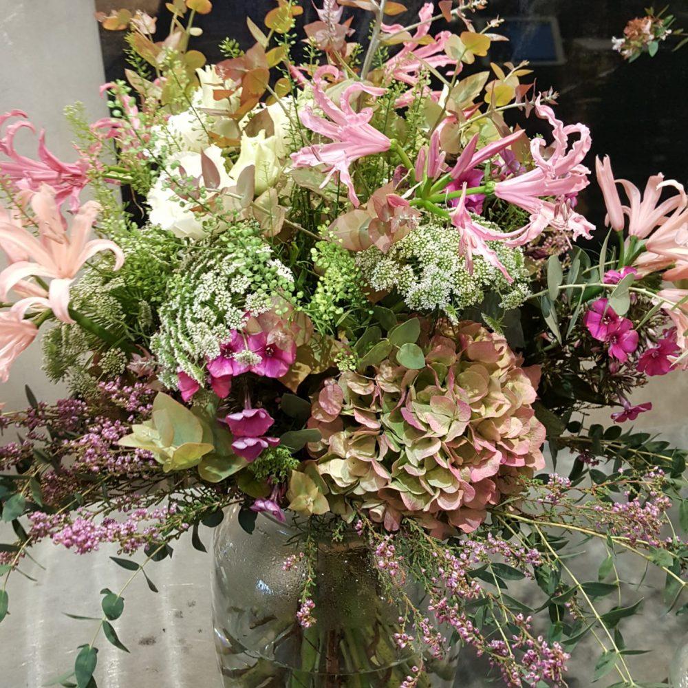 Bouquet flou champêtre