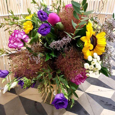 votre artisan fleuriste vous propose le bouquet : Peps'i