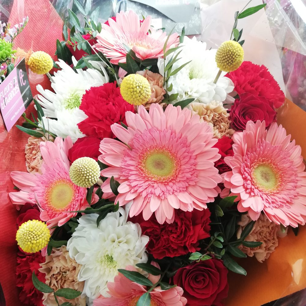 Bouquet estival, pétillant et coloré