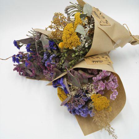 votre artisan fleuriste vous propose le bouquet : Bouquet de fleurs séchées
