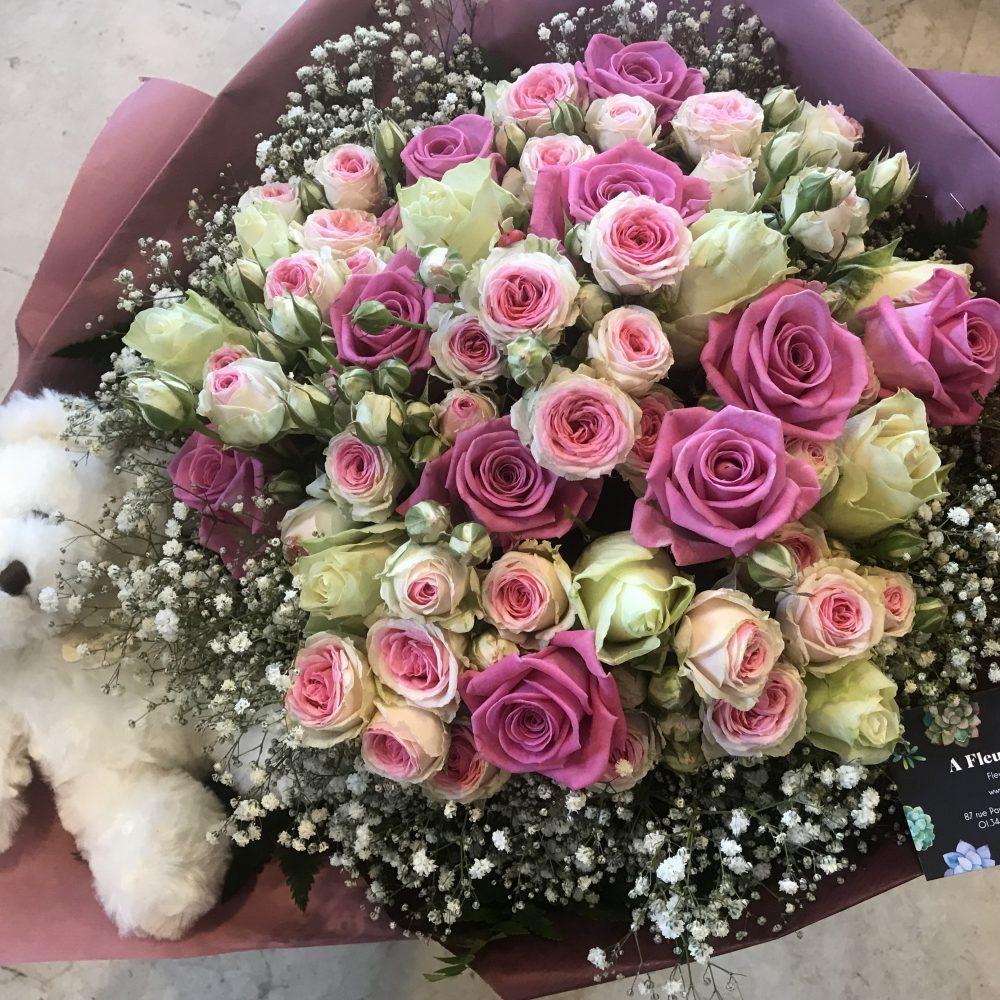 Bouquet nounours