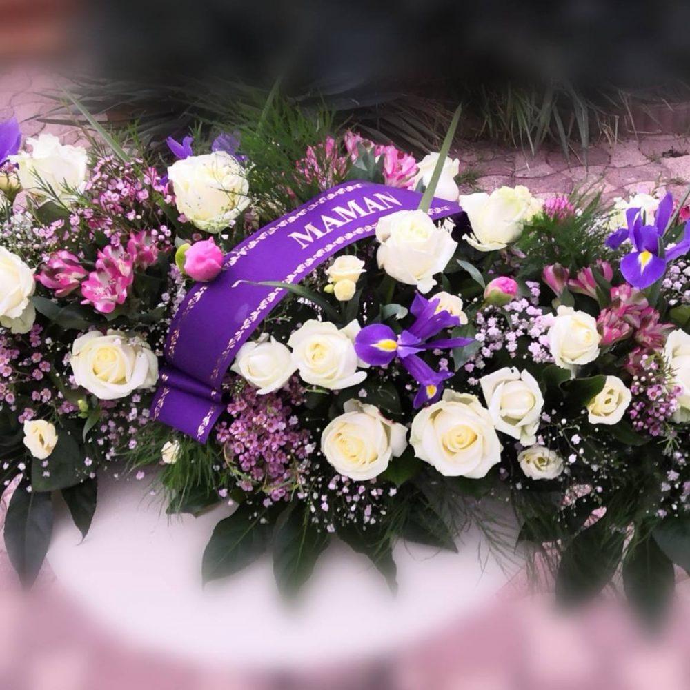 Coussin, Raquette ou Dessus de cercueil