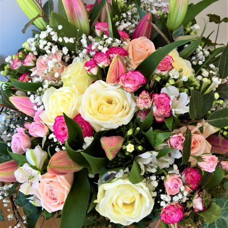 votre artisan fleuriste vous propose le bouquet : VALENTINE