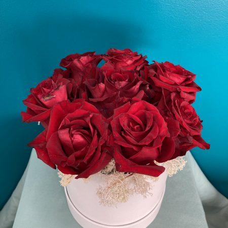 votre artisan fleuriste vous propose le bouquet : Red Velvet
