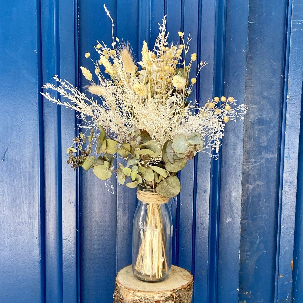 Décoration fleurs séchées