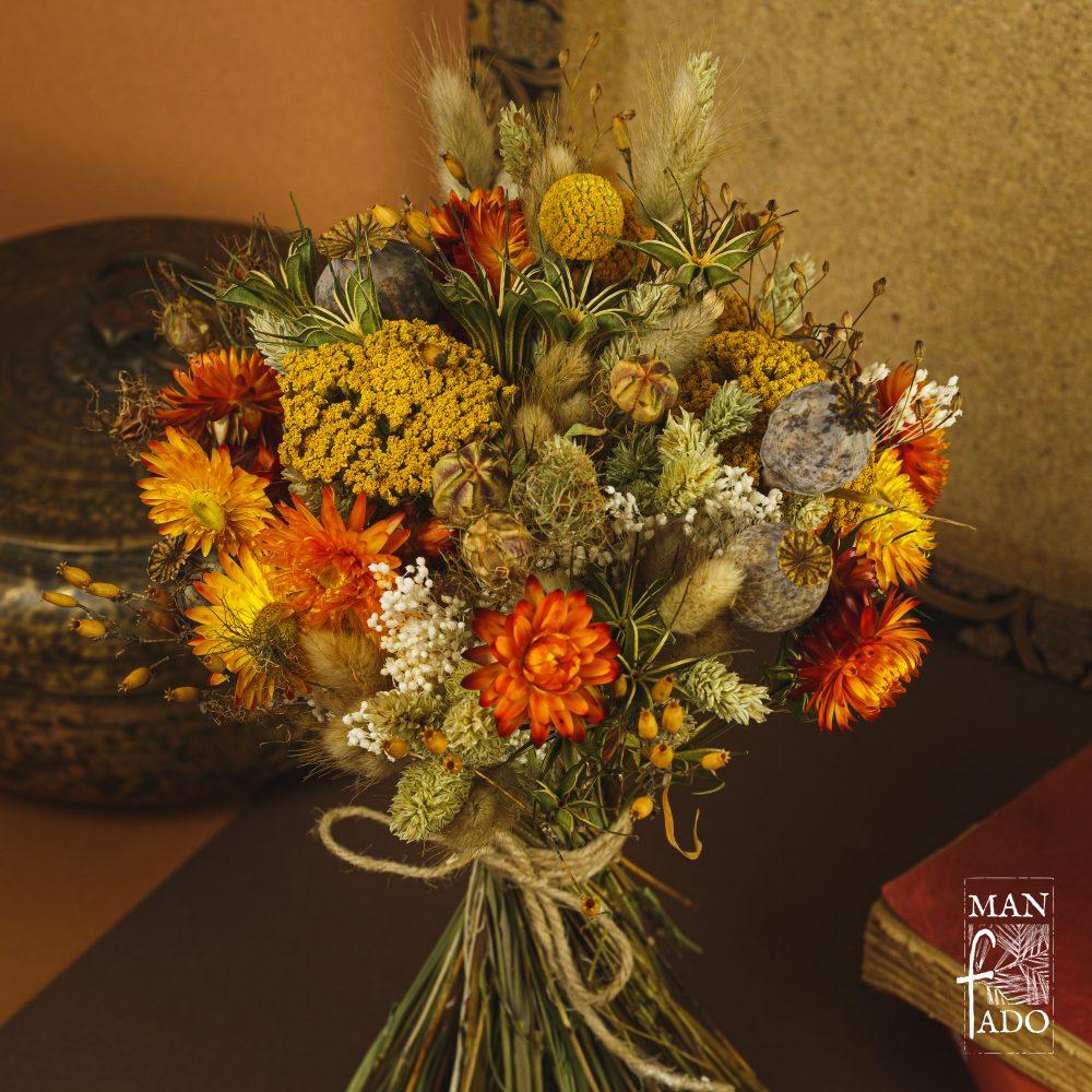 Bouquet de fleurs séchées Roussèu